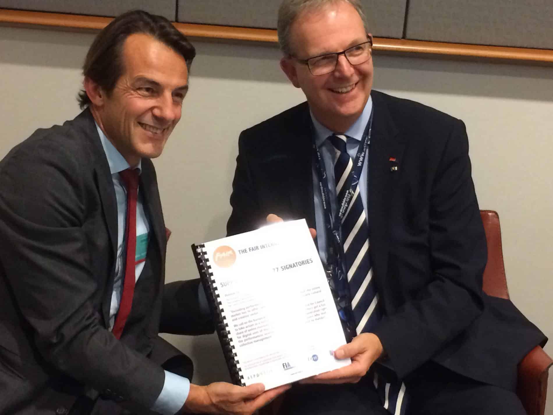 Fair-Internet meets with Axel Voss MEP